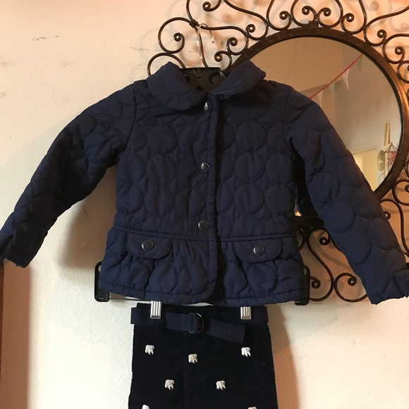 Gymboree Other - Fleeece Puffer Coat Child's 2T - 3T Girl's blue
